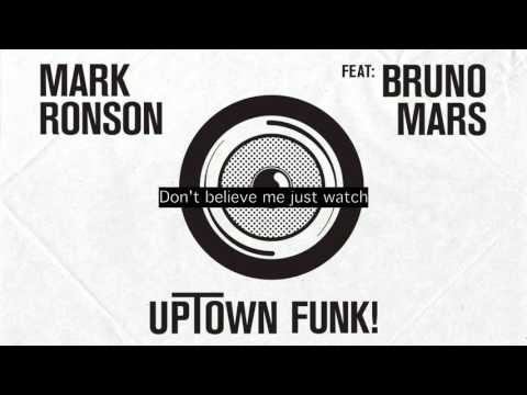 Mark Ronson feat. Bruno Mars - Uptown funk (Lyrics)