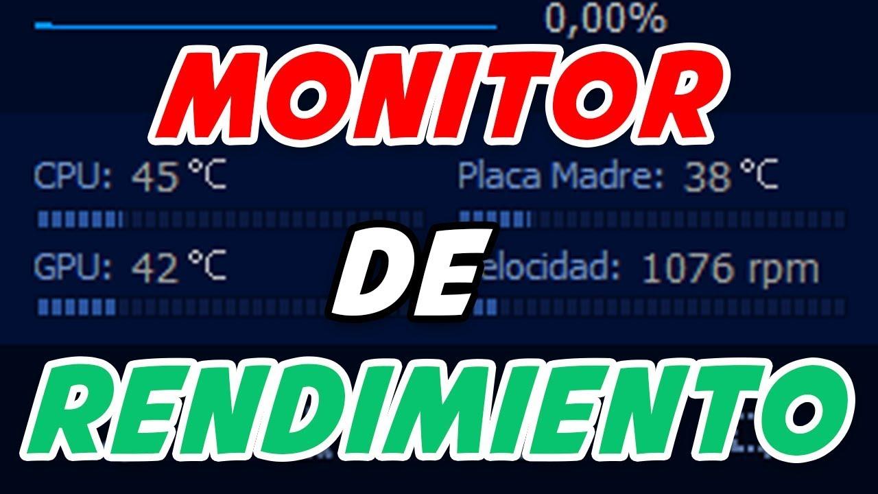 Gadget Monitor de rendimiento windows   temperatura [CPU] [GPU]