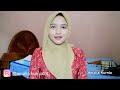 Tutorial Hijab Segiempat Paris Untuk Kondangan | Amalia Kurnia | 2017