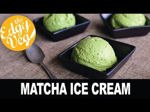 Vegan Recipe: Matcha Ice Cream Recipe from The Edgy Veg