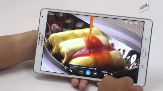Samsung Galaxy Tab S 8.4 (T705) : Unboxing & Review