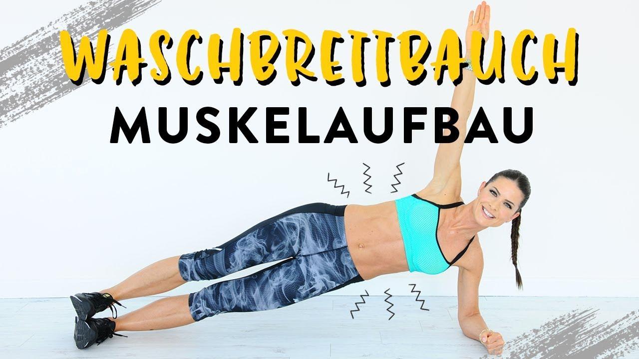 Bauchmuskel-Training zuhause - YouTube