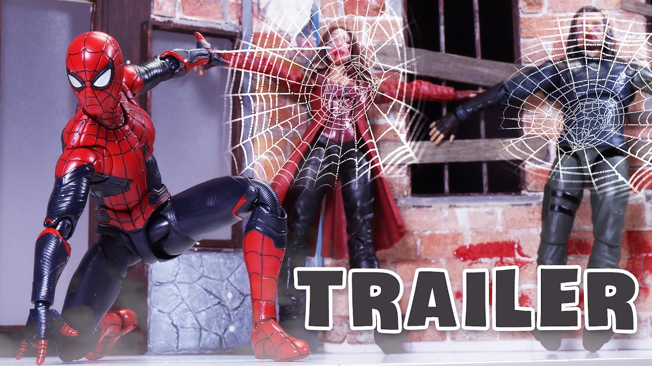 ZOMBIE AVENGERS attack SPIDER MAN | Official Trailer | Figure Stopmotion