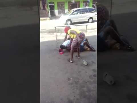 Fight in Mandeville jamaica