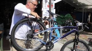 Rear Rack For Disc Brakes - How To Install - Bikesmart iRack Disc - BikemanforU