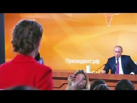 Собчак спросила, а Путин сравнил Навального с Саакашвили