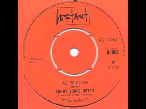Sonny Burke Outfit - All you (UK hammond mod dancer)