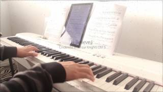Gambar cover Cinderella & Four Knights 신데렐라와 네 명의 기사 OST5 -  I Believe by Younha윤하 - piano cover 피아노