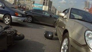 Achtung, Kamera an Bord: Russische Autofahrer filmen mit