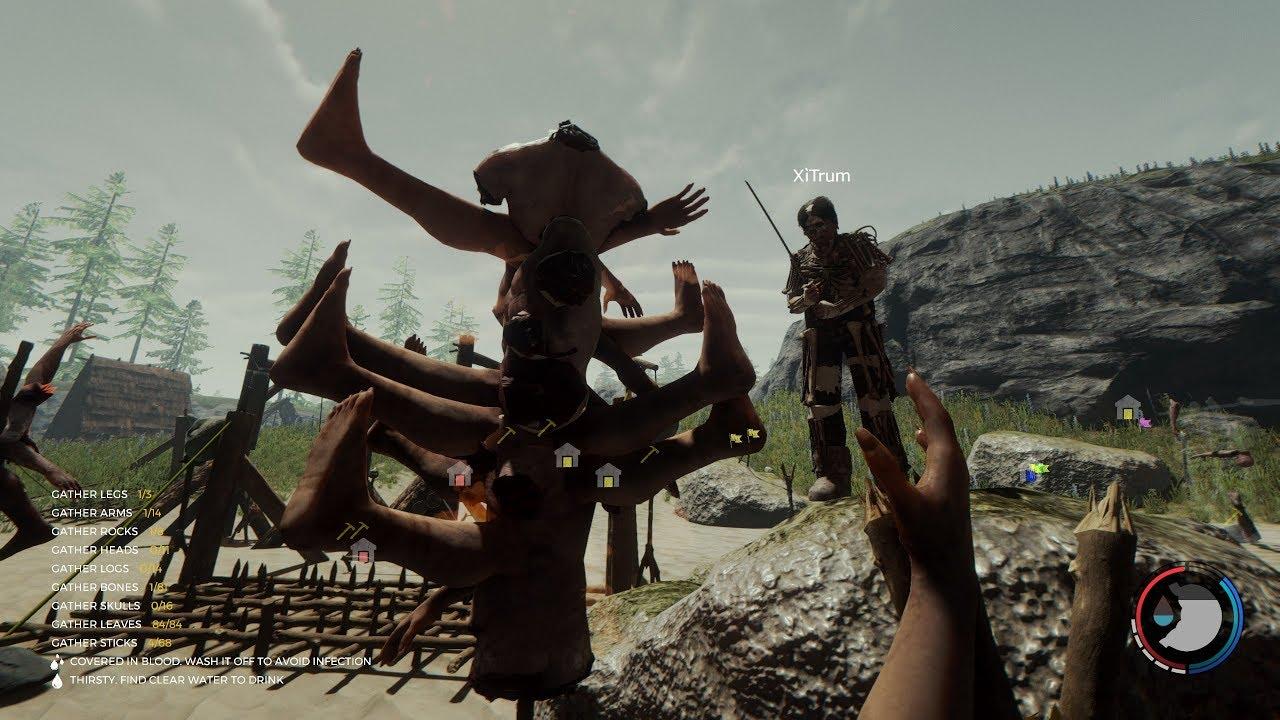 The Forest #36 - Xây Thêm Hệ Thống Bẫy Bảo Vệ Vương Quốc! Game Offline