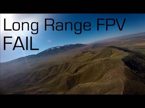 SkyHunter Long Range FPV Gone Wrong - RCTESTFLIGHT
