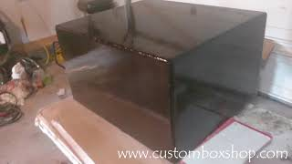 How Customers Try To Scam Sellers Through Paypal - Sundown ZV5 12 Custom Box For Sale - Glossy Black