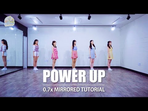 [TUTORIAL] Red Velvet 레드벨벳  'Power Up (파워업)' | 커버댄스 DANCE COVER | 0.7x SPEED MIRRORED