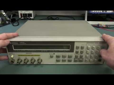 EEVblog #757 - HP4263A LCR Meter Teardown
