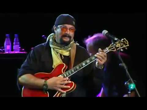 Steven Seagal –  Dust My Broom (Live 2014)