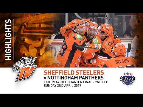 Sheffield Steelers v Nottingham Panthers - EIHL - Sunday 2nd April 2017