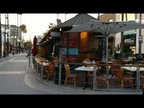 A walk down Santa Monica 3rd Street Promendae