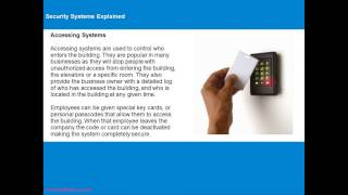 Security Systems Explained