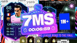 1 MILLION COIN + RTTF PACK PULL!! 88 GRIEZMANN 7 MINUTE SQUAD BUILDER - FIFA 21 ULTIMATE TEAM