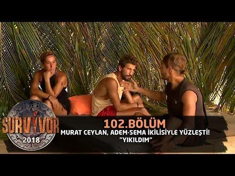 Adem ve Murat konsey sonrası yüzleşti | 102. Bölüm | Survivor 2018