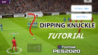TUTORIAL on How To Perform Dipping Shot & Knuckle Shot in Freekick. How to Perfrom these both shots perfectly in PES 20 Mobile game. Don't forget to Subscrib...