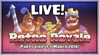 RETRO ROYALE CHALLENGE! | How To Get 6 Wins!! | Clash Royale thumbnail