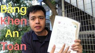 Siêu Bất Ngờ II Nhận Bằng Khen Và Phiếu Mua Hàng ở Nhật II Cuộc Sống Nhật II Muti Vlog