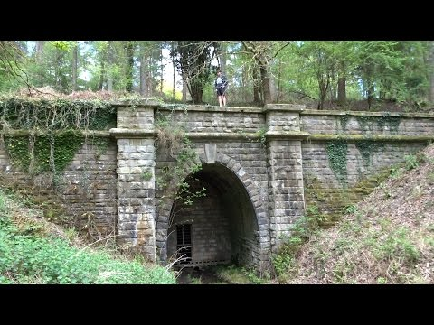Abandoned Railway Tunnels in the Forest of Dean - Wye Valley Railway