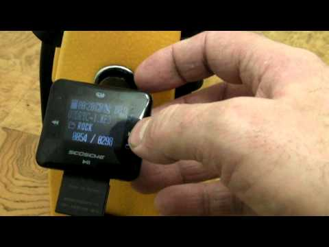 Scosche 12 Volt FM Transmitter Review Plays MP3 Files From SD Card USB Or Phone