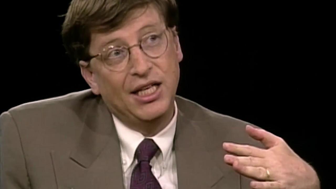 full hd] bill gates interview (1996) - youtube