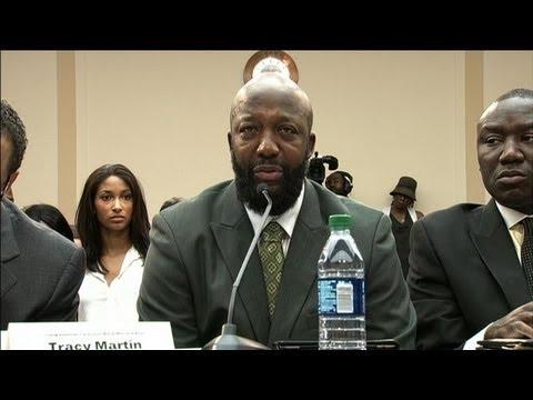 Le père de Trayvon Martin devant le Congrès américain