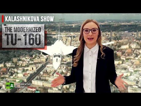 Legendary Tupolev Tu-160 Strategic Bomber Gets an Upgrade   The Kalashnikova Show. Episode 30