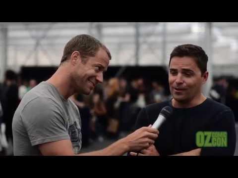 Colin Ferguson interviews Kavan Smith at Oz Comic Con Sydney 2014