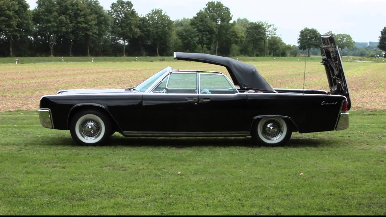 1961 lincoln continental convertible top mechanism youtube. Black Bedroom Furniture Sets. Home Design Ideas