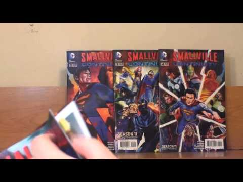 Comic Talk - Smallville Season 11 - Continuity