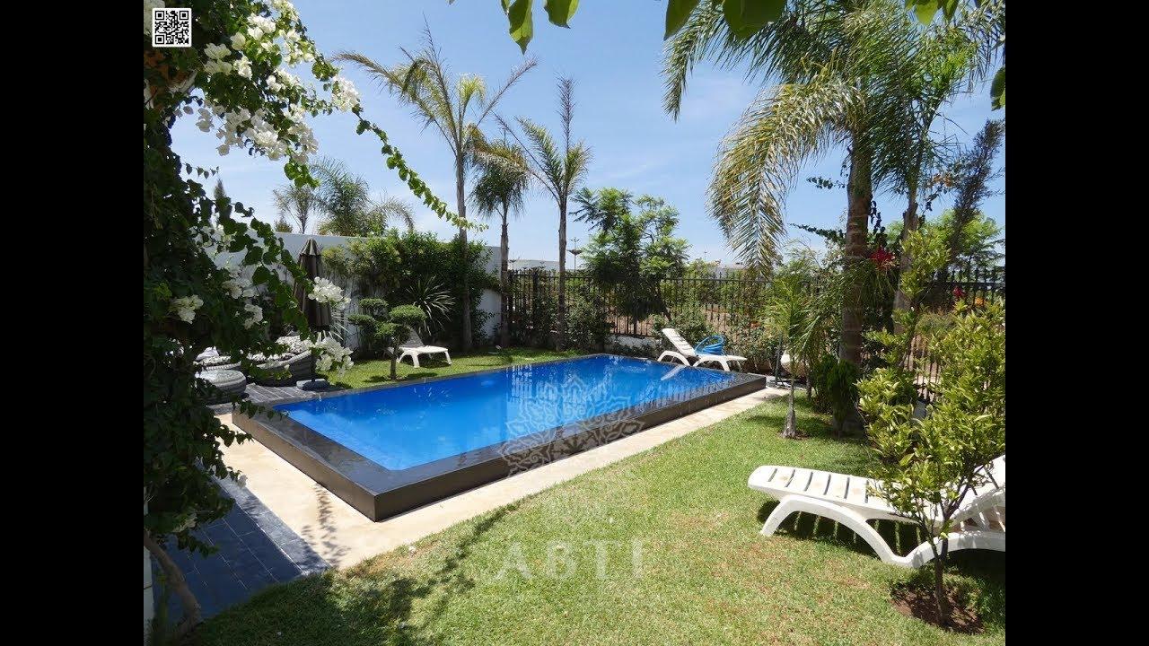 Villa jumelée 488m² à prestigia green town bouskoura