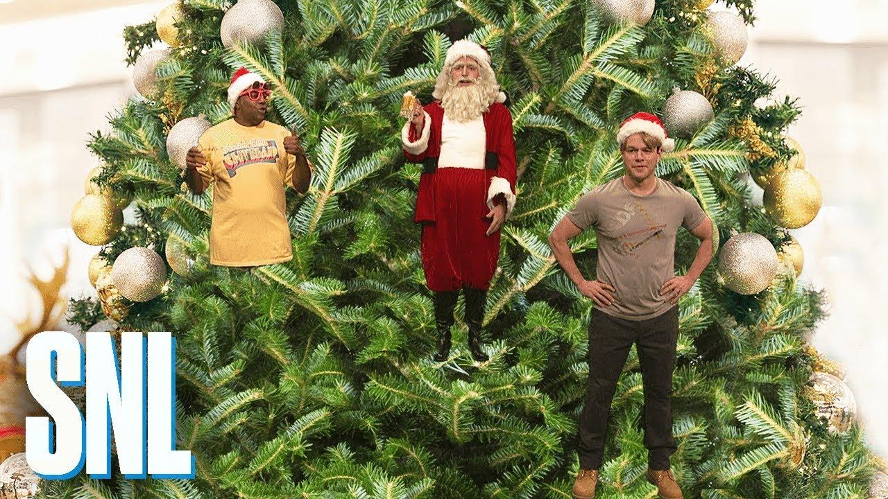 Matt Damon Snl Christmas.Christmas Ornaments Snl