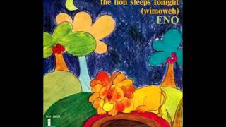 Brian Eno - The Lion Sleeps Tonight (Wimoweh) (Solomon Linda and The Evening Birds Cover)