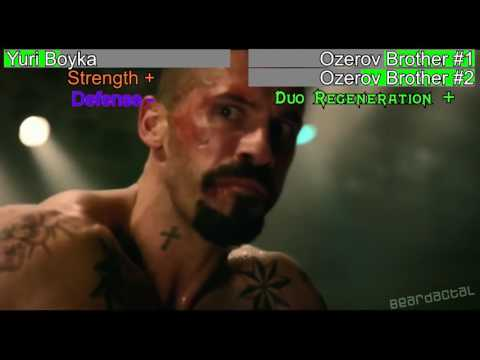 Undisputed 4 - Yuri Boyka Vs. The Ozerov Brothers [WITH HEALTH BARS]