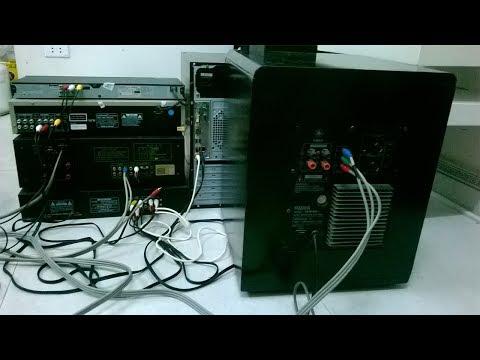 Cách đấu Nối Máy Tính (PC) Với đầu đĩa, Amply, Loa,... (Hình ảnh Thực Tế)