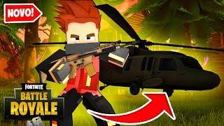 Minecraft: NOVO HELICÓPTERO DO FORTNITE !!! - FORTNITE #03 ‹ Goten ›