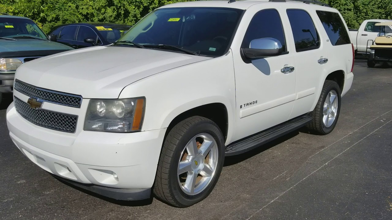 2007 Chevy Tahoe Ltz Review