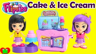 Flipsies Clementine's Kitchen and Ice Cream Cart with Shopkins Season 3