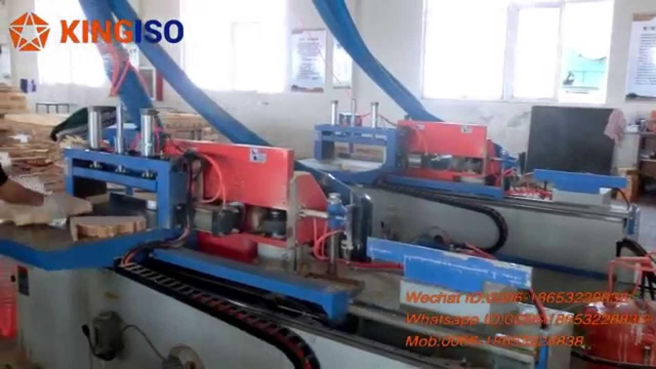 Automatic Finger Joint Shaper - YouTube