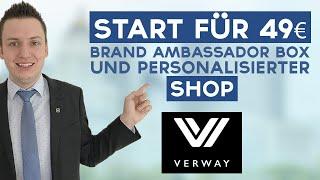 Verway AG Präsentation | Einstieg für 49€ ? Ilhan Dogan | #Powerteam mit Simeon Wilhelm