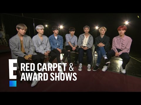 Boys of BTS Tease 2017 American Music Awards Performance  E!  from the Red Carpet