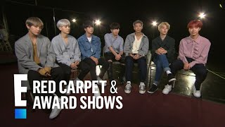 Boys of BTS Tease 2017 American Music Awards Performance | E! Red Carpet & Award Shows Video