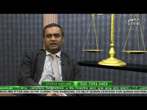 Legal Hour  17052016 By Solicitor Saif Uddin Khaled Part  3