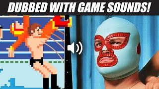 'Nacho Libre' with PRO WRESTLING Nintendo sounds!