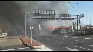 שריפה רוממה חיפה